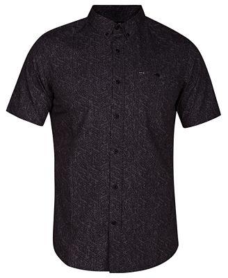 Hurley Mens Crossroads Geo Print Pocket Shirt Casual Button Down Shirts Men Macys