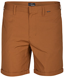 "Hurley Men's Byron Slim-Fit Stretch 7"" Walkshorts"