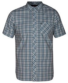 Hurley Men's Hayden Plaid Button-Down Shirt