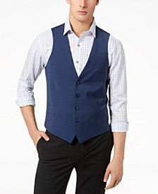 Men's Slim-Fit Active Stretch Performance Vest, Created for Macy's