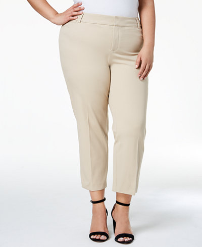 Charter Club Plus Size Cropped Pants, Created for Macy's