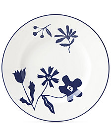 kate spade new york Spring Street Cobalt Accent Plate
