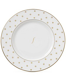 Larabee Road Gold Monogram Accent Plate