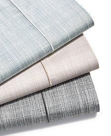 CLOSEOUT! Hotel Collection Modern Grid Cotton 525-Thread Count Sheet Sets, Created for Macy's