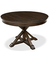 Baker Street Round Expandable Dining Table e92d1f6ff0