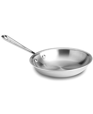 All Clad Stainless Steel 8 Quot Fry Pan Amp Reviews Cookware