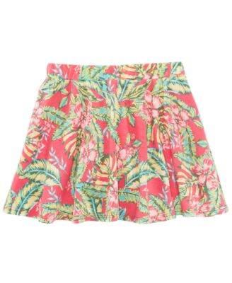 Tropical-Print Scooter Skirt, Toddler Girls, Created for Macy's