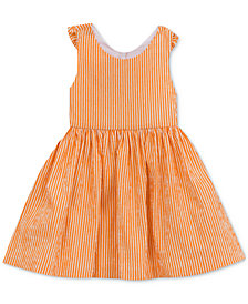 Rare Editions Bow-Back Seersucker Dress, Toddler Girls