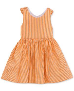 Rare Editions Bow-Back Seersucker Dress, Toddler Girls 6010008
