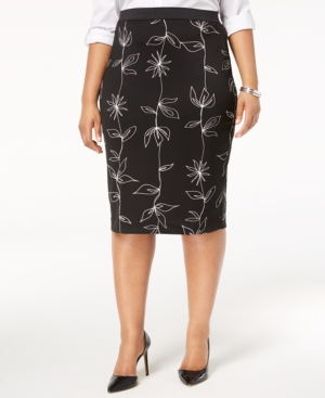 Alfani Plus Size Printed...