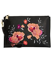 I.N.C. Molyy Small Embroidered Party Clutch, Created for Macy's