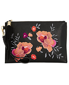 I.N.C. Molyy Embroidered Party Clutch, Created for Macy's