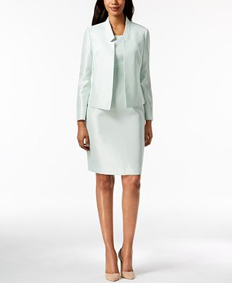 Le Suit Flyaway Jacket Dress Wear To Work Women Macy S