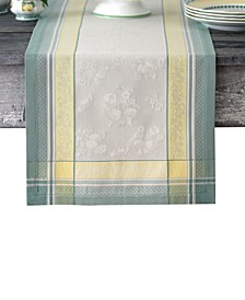 "Villeroy & Boch Fleurence Jacquard 72"" Table Runner"