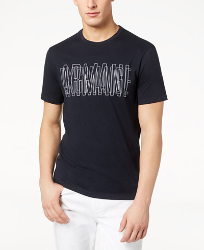 Armani Exchange Men's Logo-Print T-Shirt, Created for Macy's