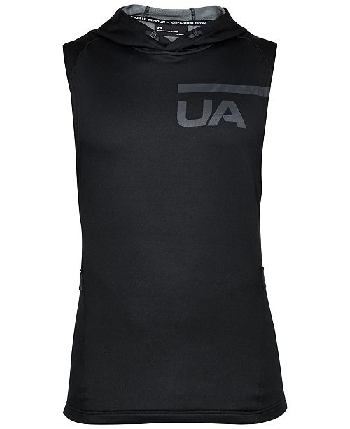 3a4a4757de6932 Under Armour Men s French Terry Sleeveless Hoodie   Reviews ...