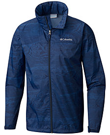 Columbia Men's Glennaker Grill Printed Jacket