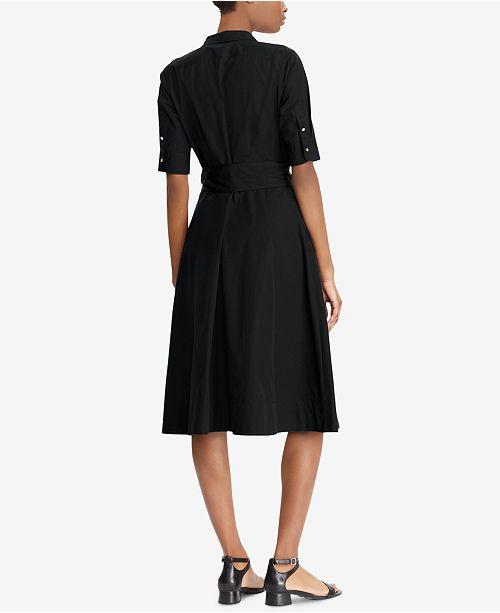 ac7a1e026c02 Lauren Ralph Lauren. Fit   Flare Cotton Shirtdress. 3 reviews. main image   main image  main image ...