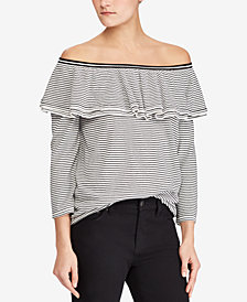 Lauren Ralph Lauren Off-The-Shoulder Sweater
