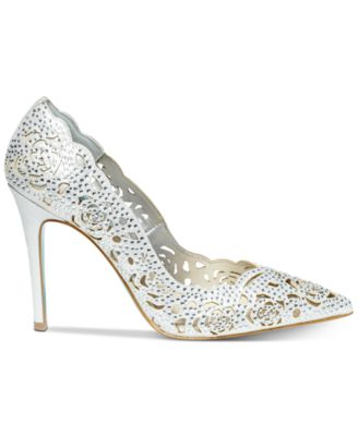 Image 2 Of Blue By Betsey Johnson Elsa Evening Pumps