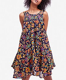 Free People Oh Baby Cotton Printed Dress