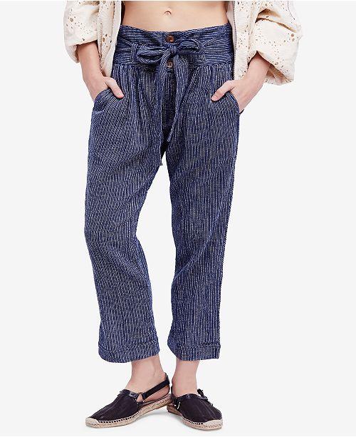 d1a5049f5a7d3 Free People Rumors Yarn-Dye Harem Pants   Reviews - Pants ...