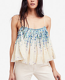 Free People Instant Crush Cotton Printed Camisole