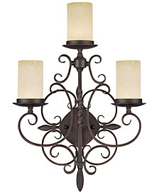 Livex Millburn Manor 3-Light Wall Sconce