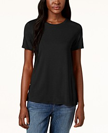 Stretch Jersey Short-Sleeve T-Shirt, Regular & Petite