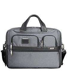 Tumi Men's Alpha Bravo T-Pass Slim Briefcase