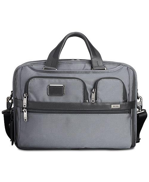 Tumi Men's Alpha Bravo T-Pass Slim Briefcase