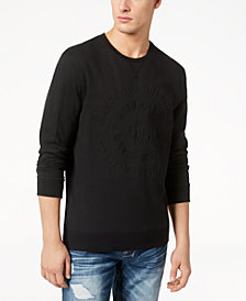 Buffalo David Bitton Men's Fabriano Embossed Sweatshirt