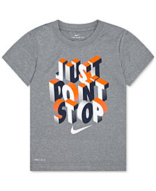 Nike Just Don't Stop-Print T-Shirt, Little Boys