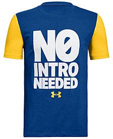 Under Armour No Intro-Print T-Shirt, Big Boys
