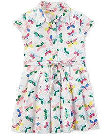 Carter's Butterfly Shirtdress, Little & Big Girls