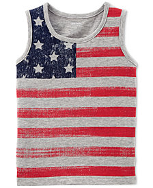 Carter's Graphic-Print Cotton Tank Top, Toddler Boys