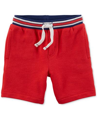 Carter's Striped Waist Cotton Shorts, Toddler Boys
