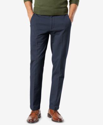 Men's Workday Smart 360 Flex Slim Fit Khaki Stretch Pants