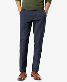 Men's Workday Smart 360 Flex Slim Fit Khaki Stretch Pants