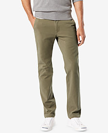 Dockers Men's Slim Tapered-Fit Downtime Khaki Smart 360 FLEX Pants