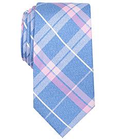 Nautica Men's Veloce Plaid Silk Tie