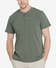 G.H. Bass & Co. Men's Jack Mountain Textured Henley T-Shirt