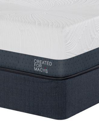 "Greenbriar 12"" Plush Euro Top Memory Foam Mattress Set - Twin, Created for Macy's"