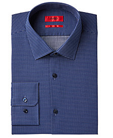 HUGO Men's Slim-Fit Dot Dress Shirt