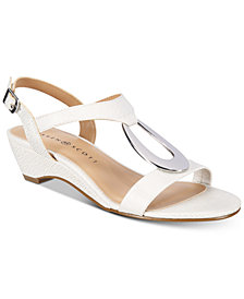 Karen Scott Carmeyy Wedge Sandals, Created for Macy's