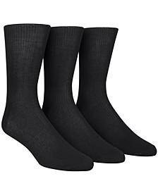 Dress Men's Socks, Non Binding 3 Pack