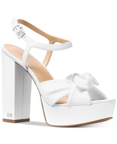 a983794575 Michael Kors Pippa Platform Dress Sandals & Reviews - Sandals & Flip ...