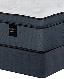 "MacyBed Lux Coventry 15.5"" Cushion Firm Euro Top Hybrid Mattress Set- Twin, Created for Macy's"
