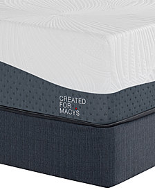 "MacyBed Lux Hampton 14"" Ultra Plush Memory Foam Mattress Set - Twin, Created for Macy's"