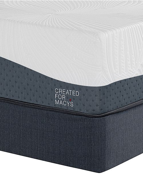 "Macybed Lux Hampton 14"" Ultra Plush Memory Foam Mattress Set - Queen Split, Created for Macy's"